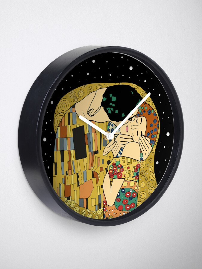 Alternate view of The Kiss Clock