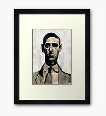 HP Lovecraft Framed Print