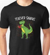 tyrannosaurus reading book gift Unisex T-Shirt