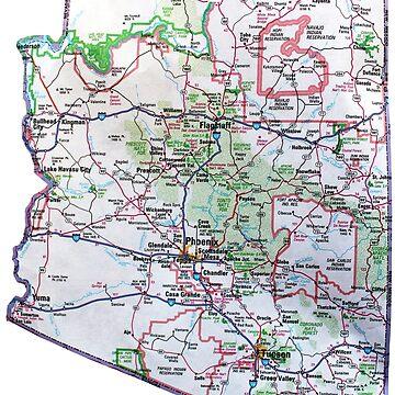Mapa de Arizona de Havocgirl