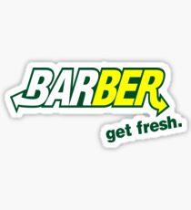 "Pegatina Barber Get Fresh ""Subway"""