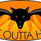 Bat Outta Hell by elledeegee