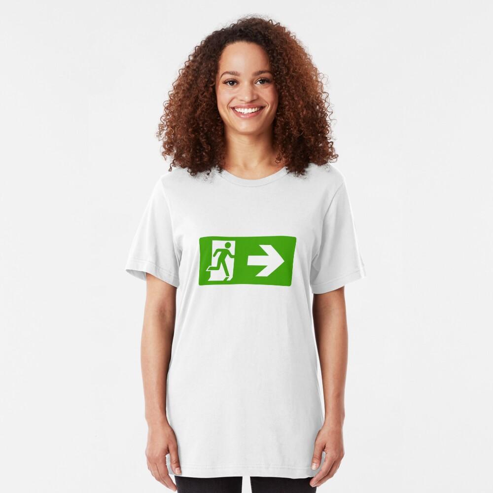 Exit Slim Fit T-Shirt