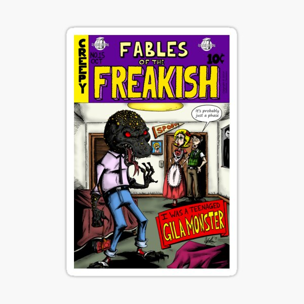 Fables of the Freakish Sticker