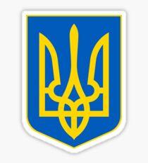 Ukraine DÉTACHÉE | Héraldique d'Europe | SteezeFactory.com Sticker