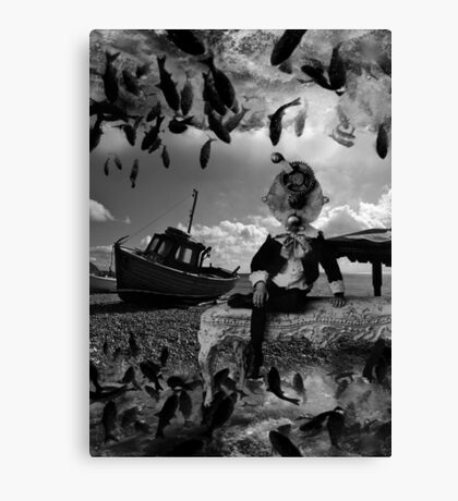"""A fantastical strange occurence for a""""reel"""" boy Canvas Print"""