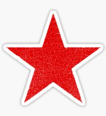 Vintage Look Russian Red Star Sticker