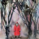 roter Mantel von Marianna Tankelevich