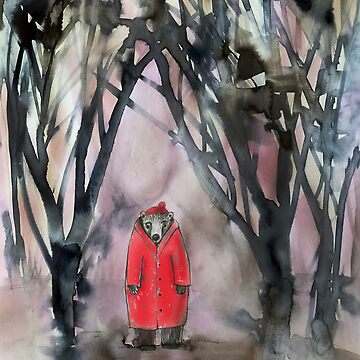 red coat by mariannat