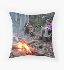 Relaxation! Throw Pillow