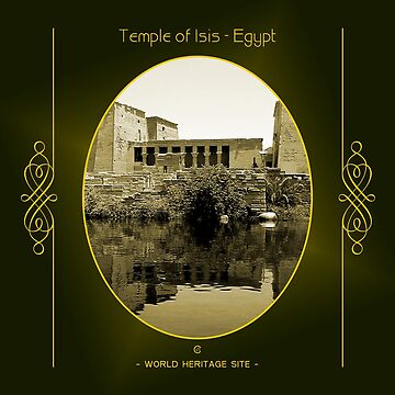 Temple of Isis World Heritage Site In Egypt by vysolo