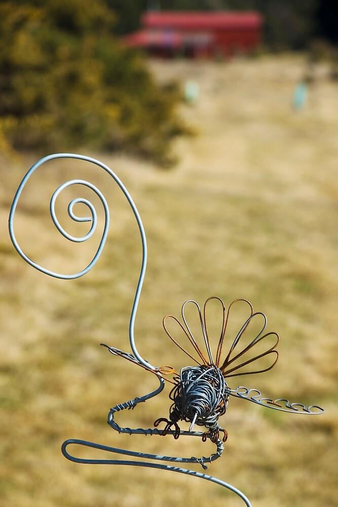 Bird on a Wire by HelenPadarin