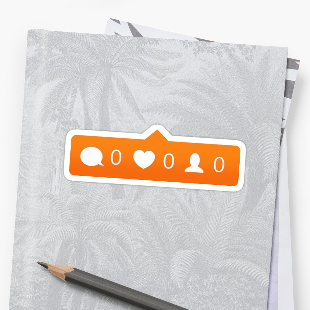 instagram notification Sticker