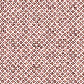 Trendy Rose Gold Quadrafoil Glitter Pattern by jollypockets
