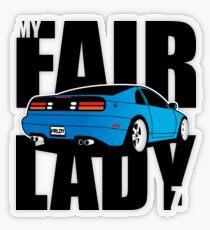 My Fairlady Z Transparent Sticker