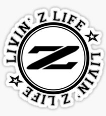 Livin Z Life Glossy Sticker