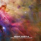 Orion Nebula Emission Space Galaxy, RBSSG by sandyspider