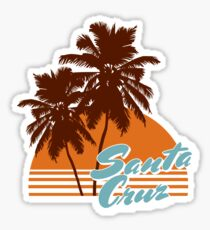 Santa Cruz California Sticker