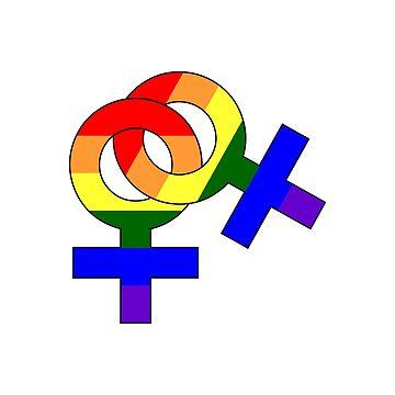 LGBT Lesbians by RBBeachDesigns