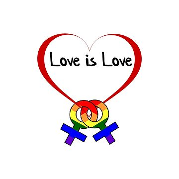 Love is Love by RBBeachDesigns