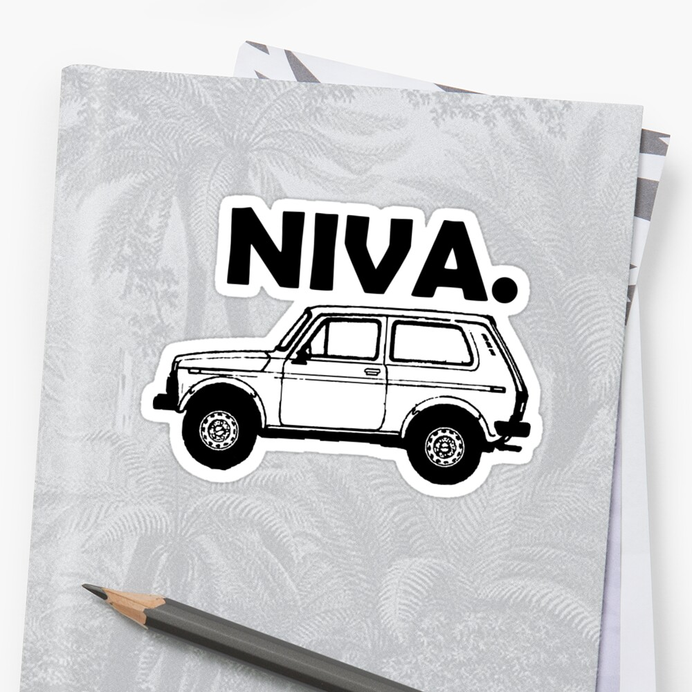 LADA   sticker vinyl decal for car and others FINISH GLOSSY