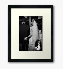 This Years Cake Topper Theme Framed Print