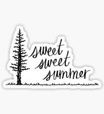 Pegatina Dulce y dulce verano