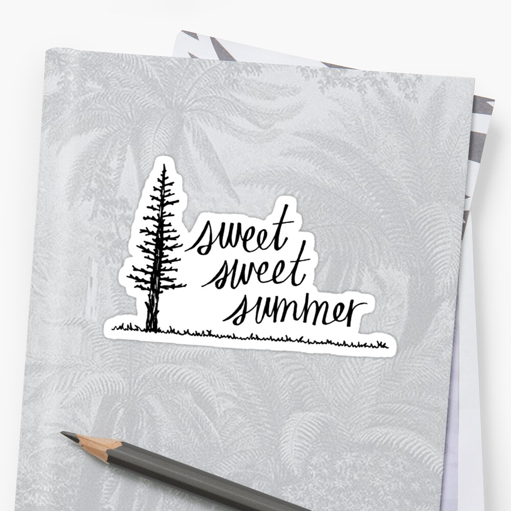 Sweet, Sweet Summer Sticker