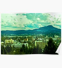 Downtown Eugene Poster