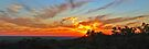 Sunset from Mt Walker, Hughenden by Paul Gilbert
