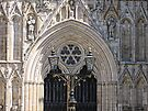 York Minster - West Front by Audrey Clarke