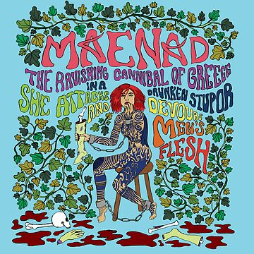Maenad the ravishing cannibal of Greece by SirenDesigns