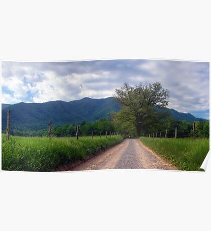 Cade's Cove~Great Smoky Mountains National Park Poster