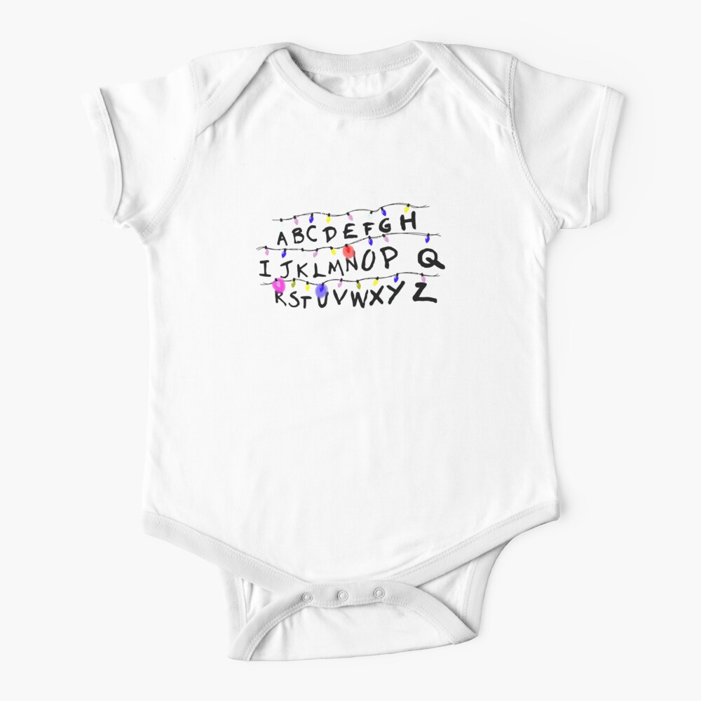 ABCD leuchtet Baby Body