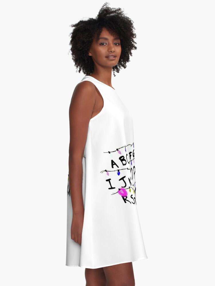 Alternative Ansicht von ABCD leuchtet A-Linien Kleid