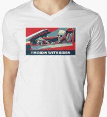 Joe Biden 2020 T-Shirt mit V-Ausschnitt