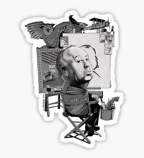 Alfred Hitchcock Sticker