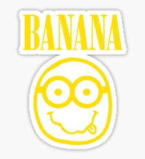 Nirvana Banana Logo Sticker