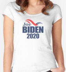 Joe Biden 2020 Tailliertes Rundhals-Shirt