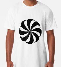 Right-Facing Armenian Eternity Sign Long T-Shirt