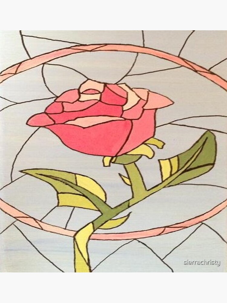 Stained Glass Window Rose de sierrachristy