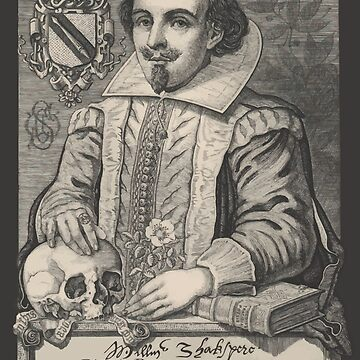 William Shakespeare-Vintage-Druck von monsterplanet