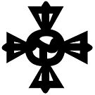 Tibetan Symbol Rdo Rje Rgya Gram ࿇ by znamenski
