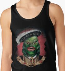 Camiseta de tirantes Retrato victoriano renacentista - Criatura de la laguna negra