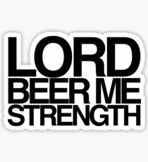Pegatina Lord Beer Me Strength