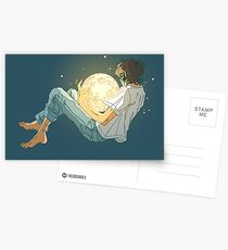 I have moonlight in my soul  Postcards