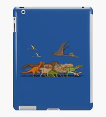 Mesozoic Procession iPad Case/Skin