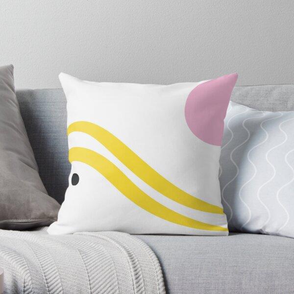 Yellow Sea Throw Pillow