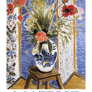 «Coquelicots (1919) de Henri Matisse» par Chunga