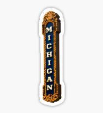 Michigan Theater Sticker